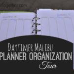 My Personal Planner Organization Tour