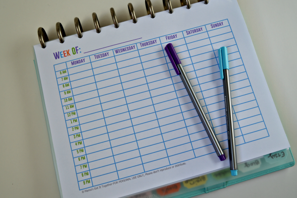 Arc Calendar Printables : Free printable calendars for your filofax household