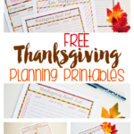 Free Thanksgiving Printables for Planning Your Holiday